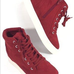SODA High Top Platform Sneakers NWOB